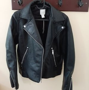 H&M leather jacket - never worn